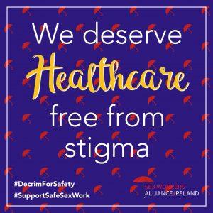 W deserve Healthcare free from stigma