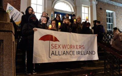Candlelit vigil to mark International Day to Eliminate Violence Against Sex Workers 17th Dec 6:30pm